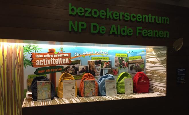 Nationaal Park De Alde Feanen met kinderen - rugzakjes
