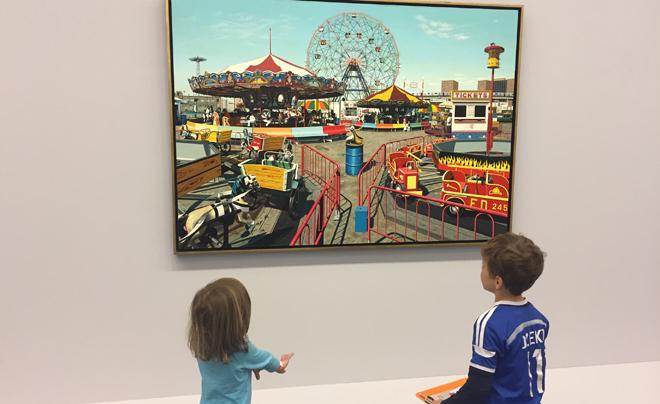 Kunst kijken met kinderen - Hyperrealisme 01