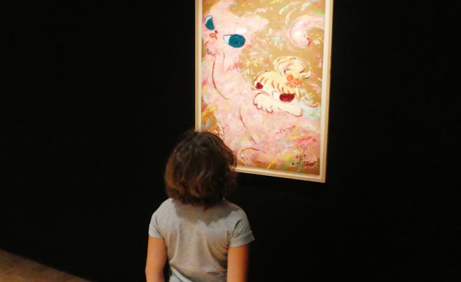 Kunst met kinderen: mattenliefde 03