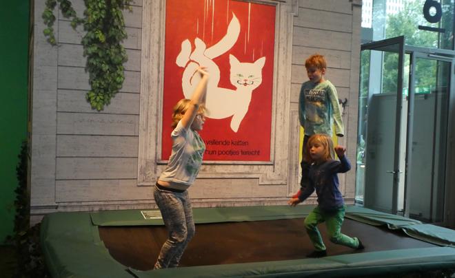 Kunst met kinderen: mattenliefde 05