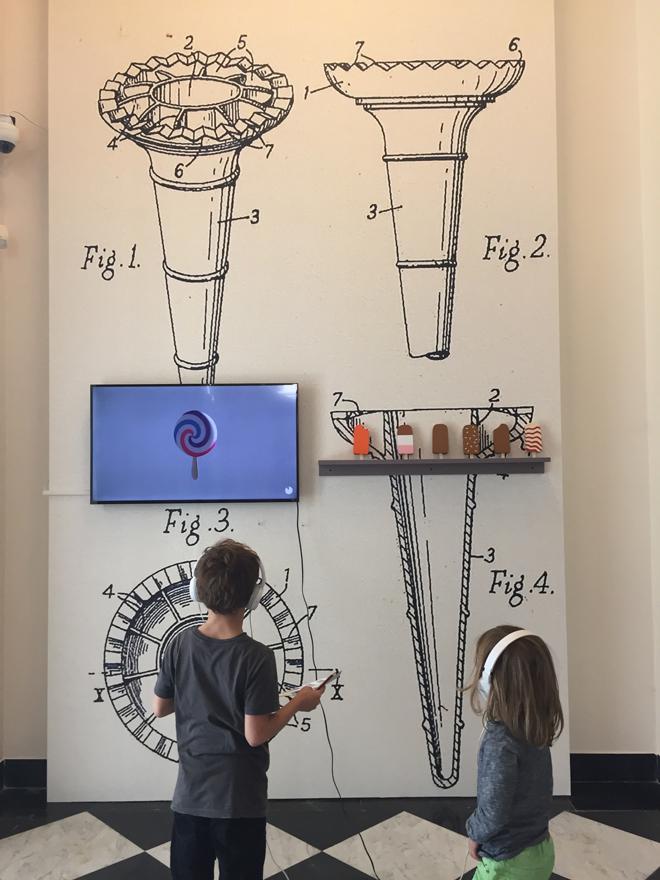 Kunst met kinderen; sticky business 04