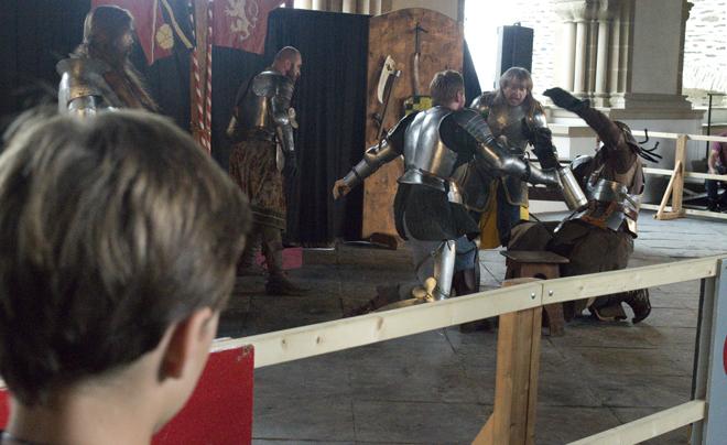Middeleeuws Festival in Kasteel Vianden 15