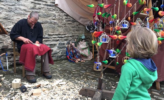 Middeleeuws Festival in Kasteel Vianden 18