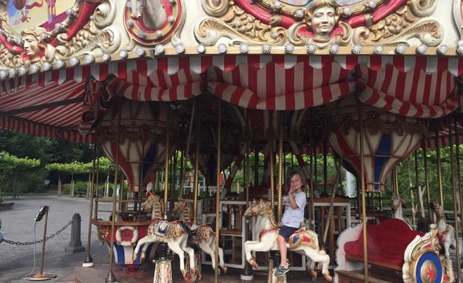 Met de kinderen naar plaswijckpark in Rotterdam 07