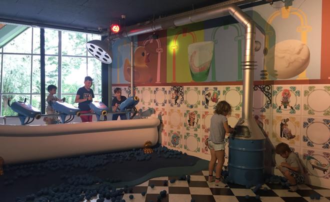 Met de kinderen naar plaswijckpark in Rotterdam 10