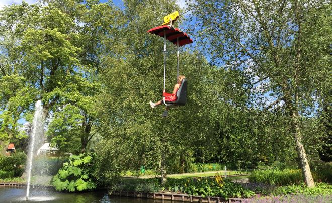 Met de kinderen naar plaswijckpark in Rotterdam 16