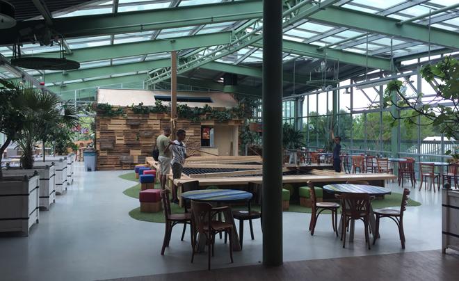 Met de kinderen naar plaswijckpark in Rotterdam 17