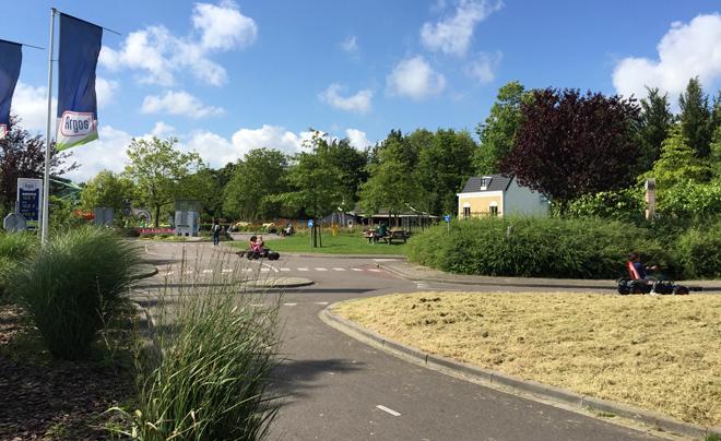 Met de kinderen naar plaswijckpark in Rotterdam 25