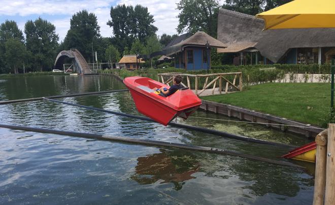Met de kinderen naar plaswijckpark in Rotterdam 28