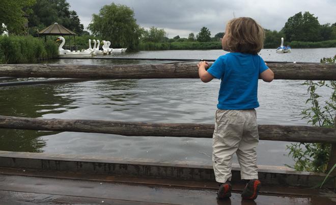 Met de kinderen naar plaswijckpark in Rotterdam 33