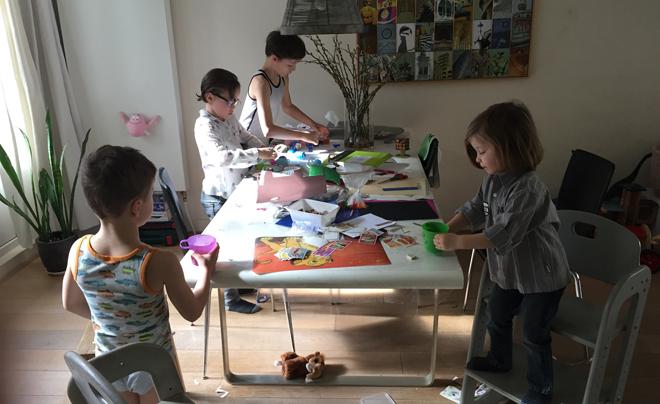 de leukste gratis activiteiten om met kinderen te doen - knutselen