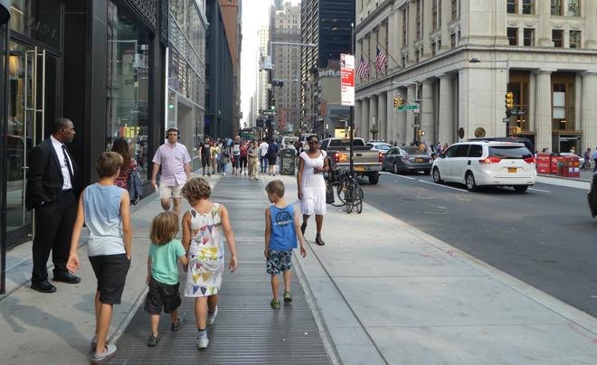 in je eentje met vier kinderen naar New York 06