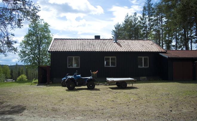 wandelen met husky's in Zweeds Lapland 08