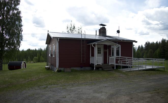 wandelen met husky's in Zweeds Lapland 14