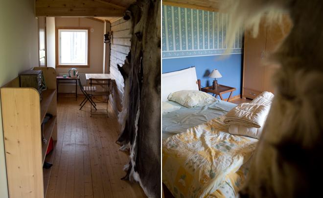 wandelen met husky's in Zweeds Lapland 20