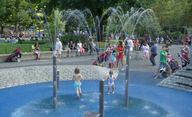 in je eentje met vier kinderen naar New York 09