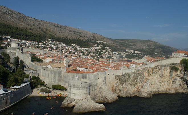 steden langs de kust van Kroatië - Dubrovnik
