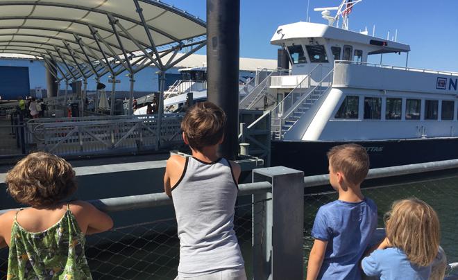 Met kinderen naar Governors Island 01