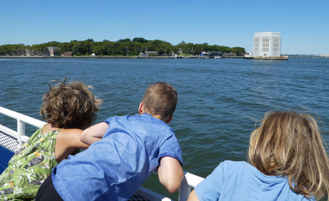 Met kinderen naar Governors Island 02