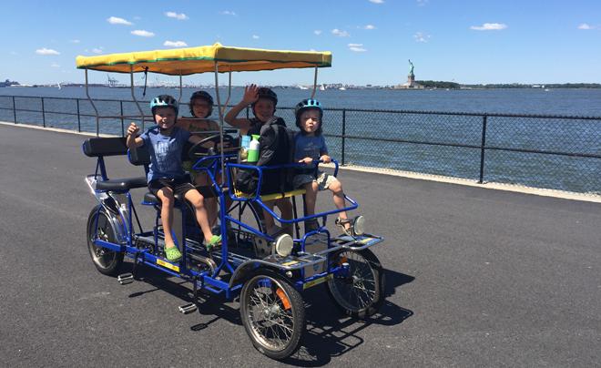 Met kinderen naar Governors Island 05