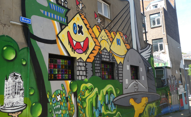 Streetart in Rotterdam 10