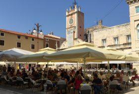 steden langs kust van Kroatië - Zadar