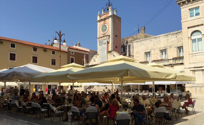 steden langs de kust van Kroatië - Zadar