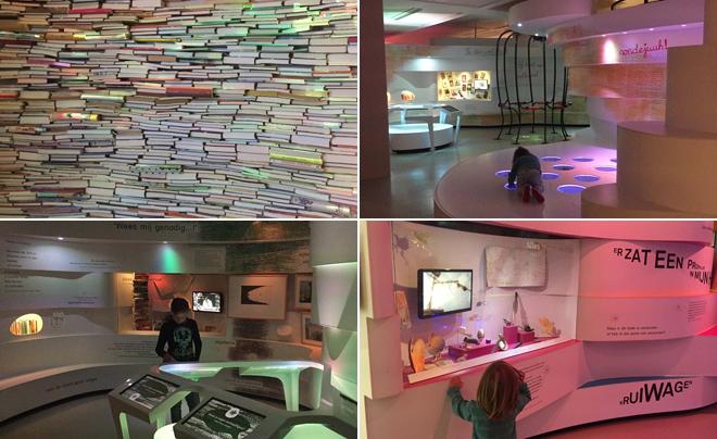 met kinderen naar het Kinderboekenmuseum in Den Haag 01