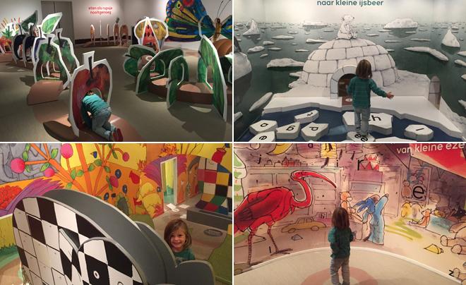 met kinderen naar het Kinderboekenmuseum in Den Haag 02