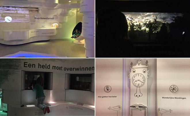 met kinderen naar het Kinderboekenmuseum in Den Haag 03