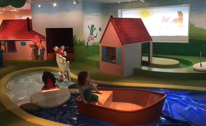 met kinderen naar het Kinderboekenmuseum in Den Haag 07