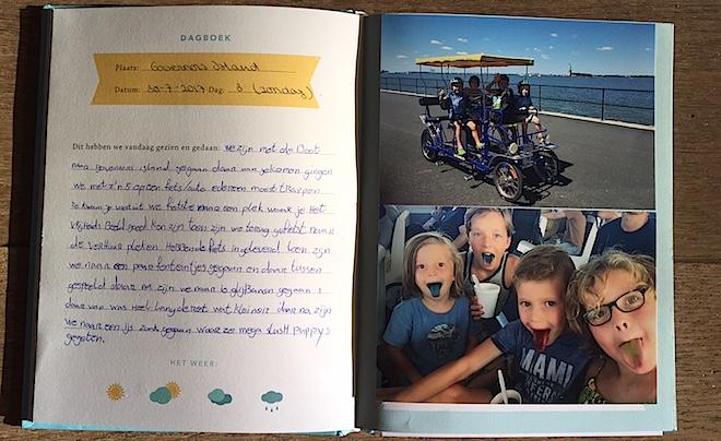 vakantiedagboek vol mooie herinneringen 01