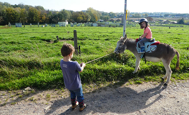 Wandelen met een ezel 14