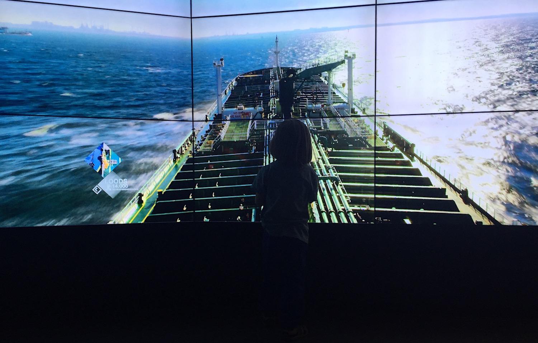 SHIP in het havengebied van IJmuiden 05