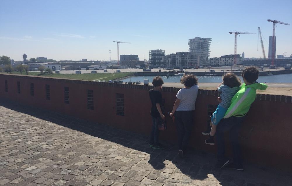 Fort Napoleon met kinderen 21
