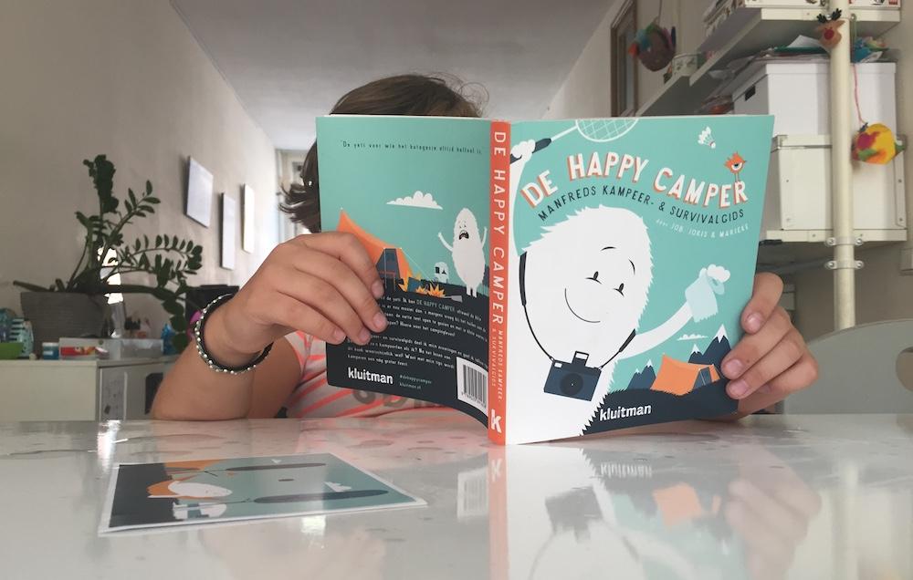 Kinderboek over kamperen 01