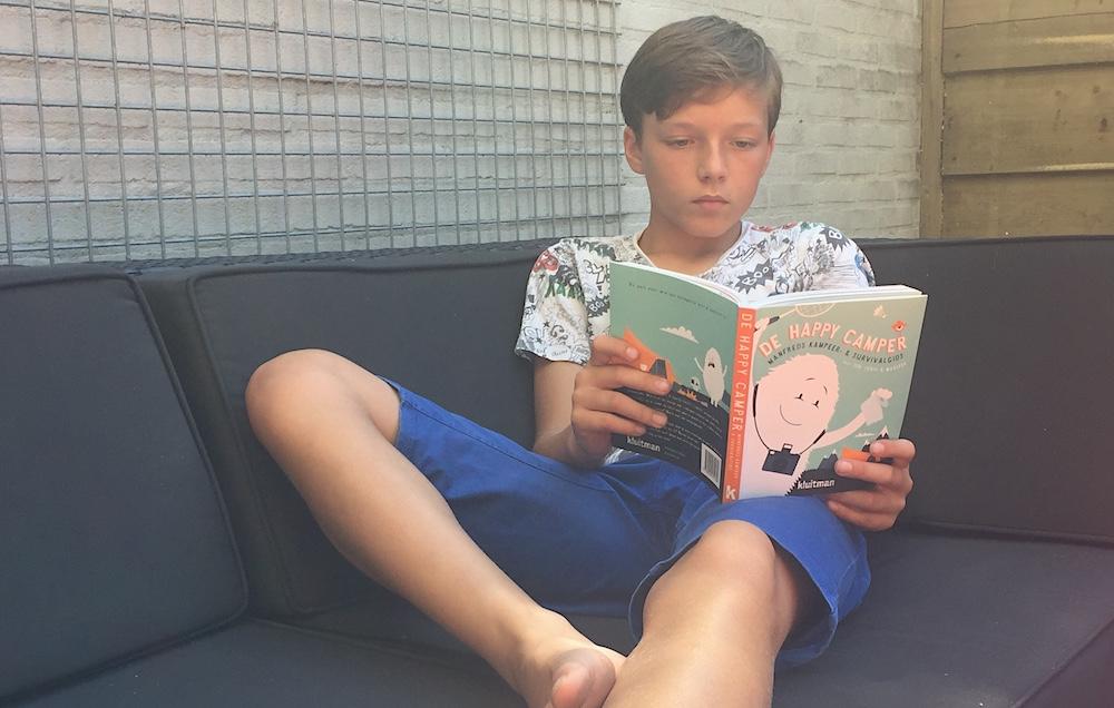 Kinderboek over kamperen 02
