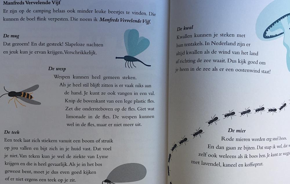 Kinderboek over kamperen 04