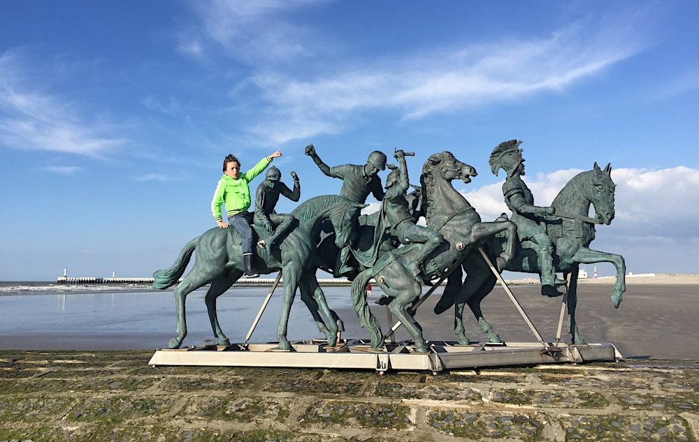 Doen aan de Belgische kust met kinderen - Beaufort