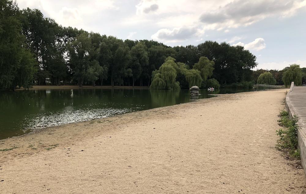 kanoën in het Rotterdamse Zuiderpark 01