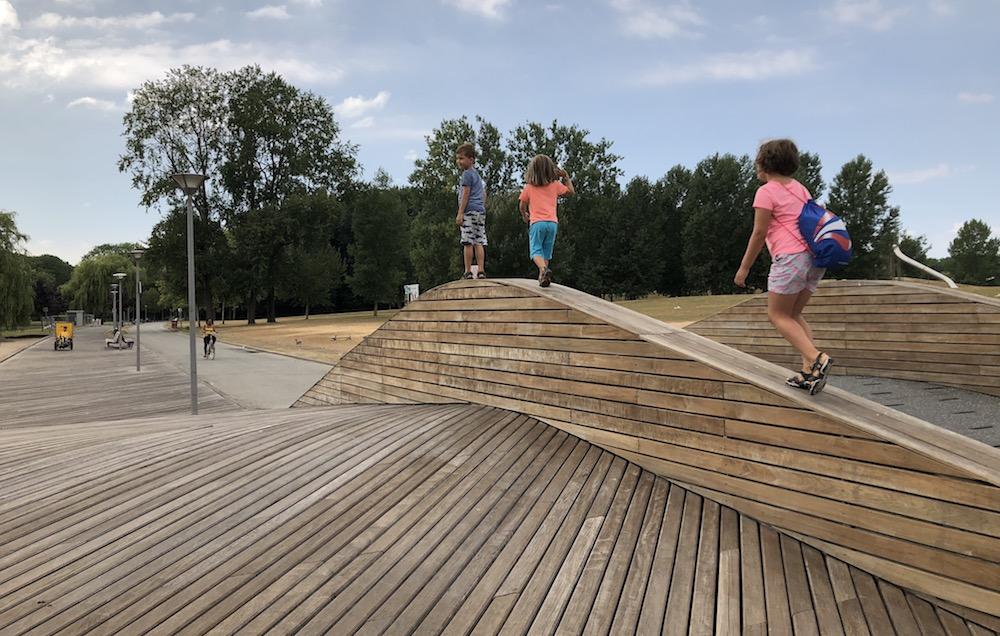 kanoën in het Rotterdamse Zuiderpark 02