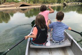 Met je hoofd tussen de spinnen; kanoën in het Rotterdamse Zuiderpark