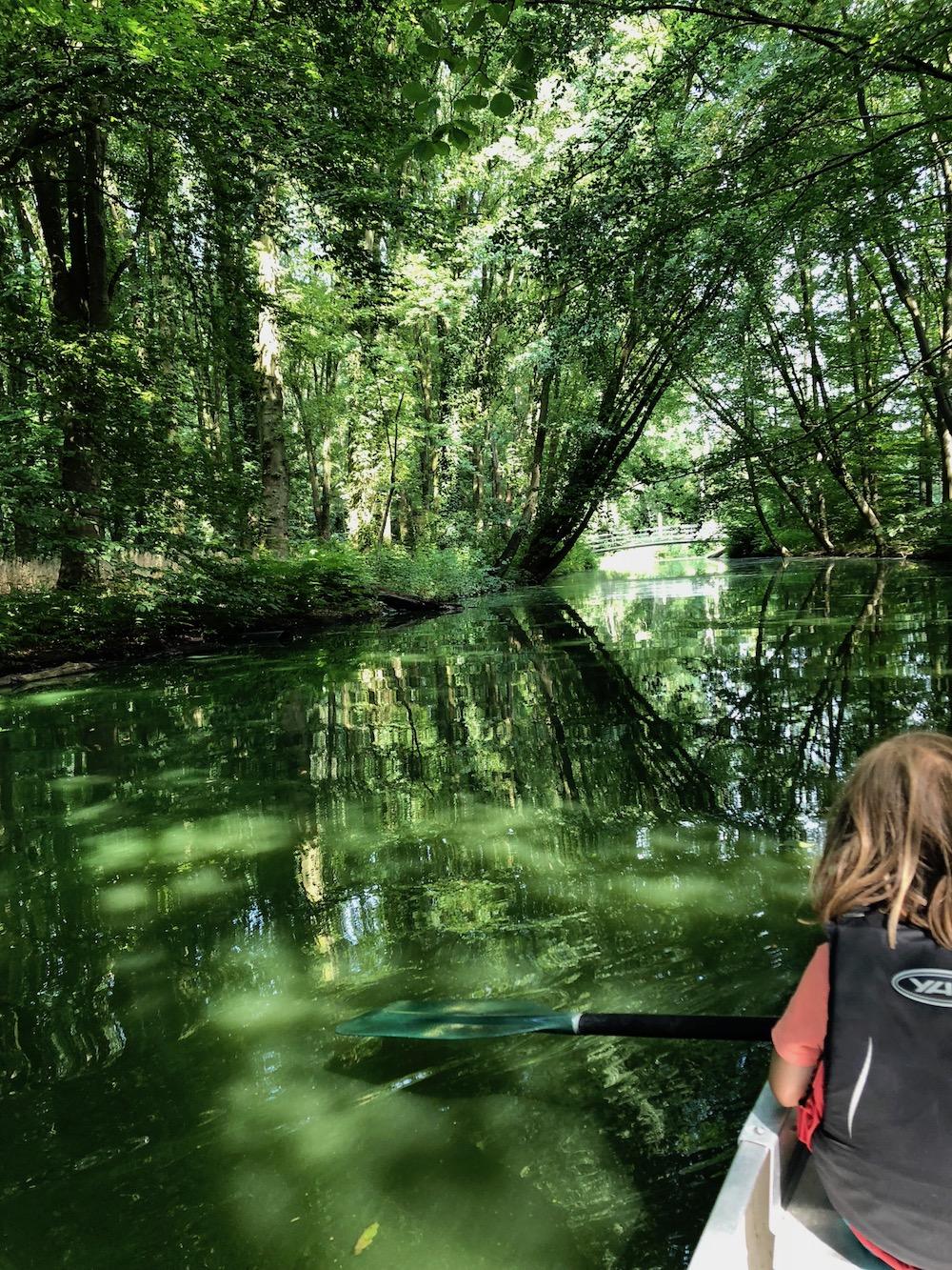 kanoën in het Rotterdamse Zuiderpark 09
