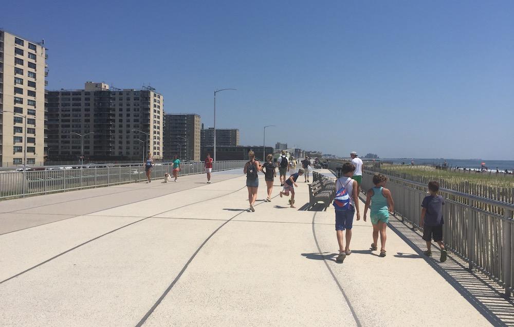 Doen in New York met kinderen - Rockaway Beach 03