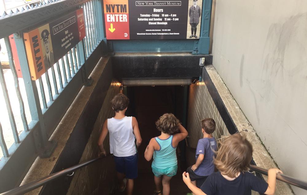 Doen in New York met kinderen - Transit Museum 01