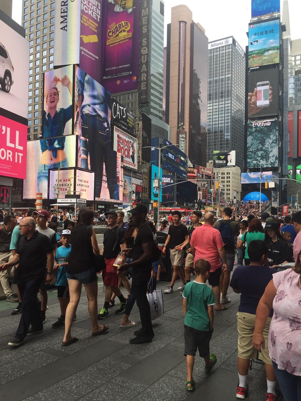 Doen in New York met kinderen - Times Square 02