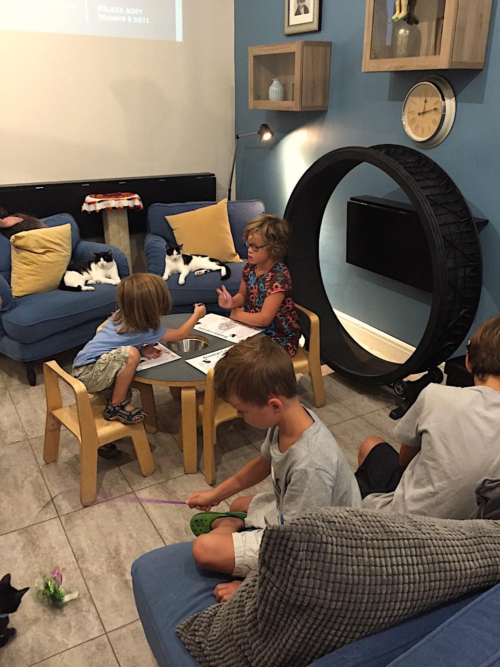 Doen in New York met kinderen - Cat Cafe 01