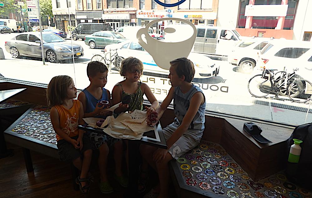 Doen in New York met kinderen - Doughnut Plant 01