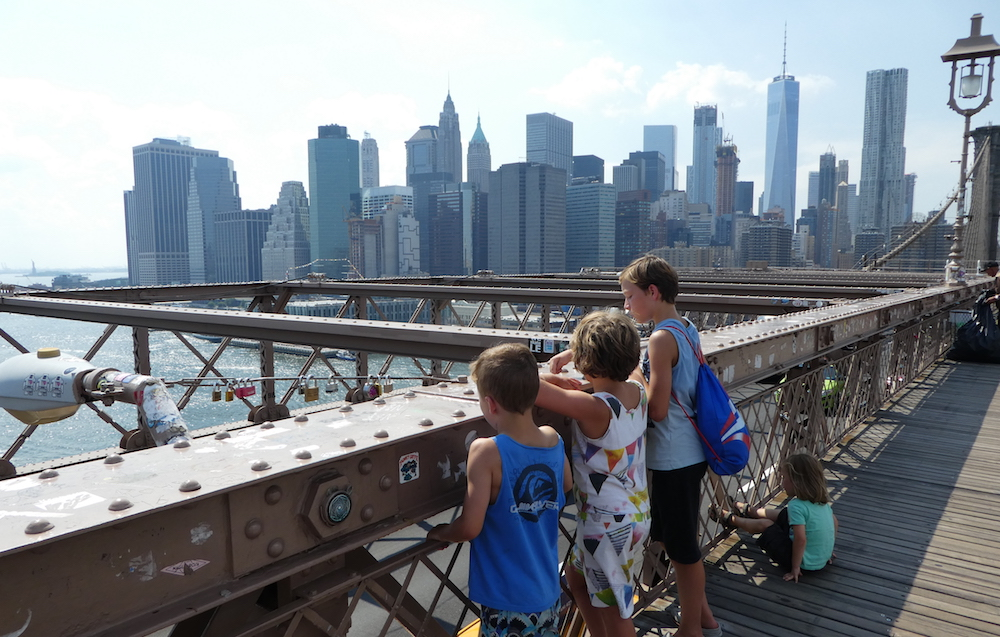 Doen in New York met kinderen - Brooklyn Bridge 02