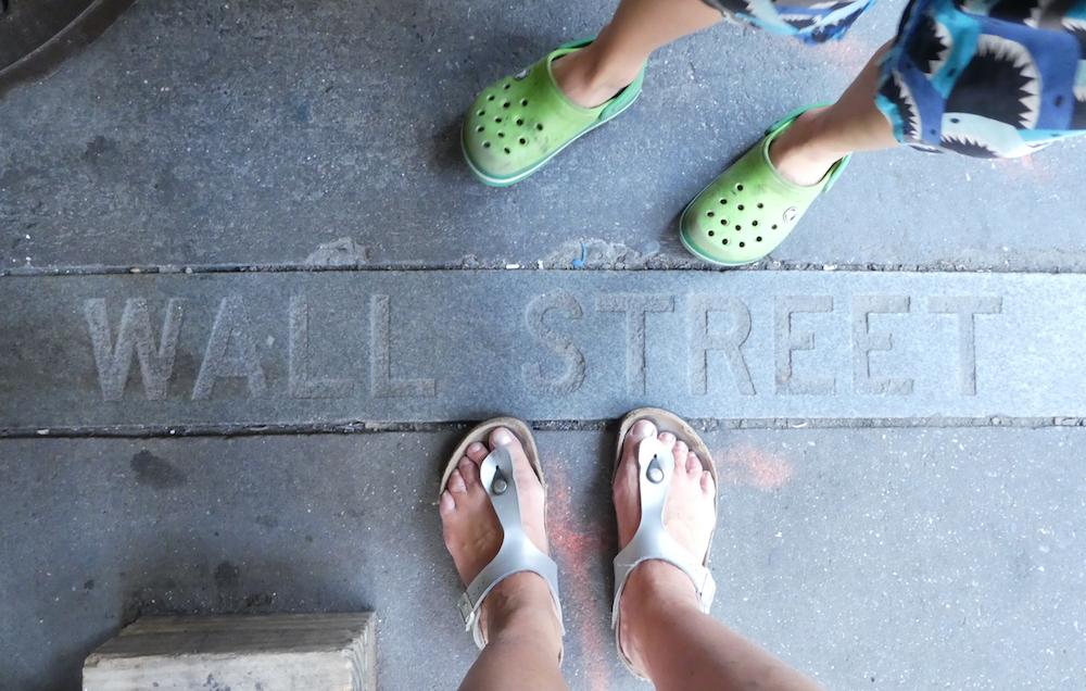 Doen in New York met kinderen - Wall Street